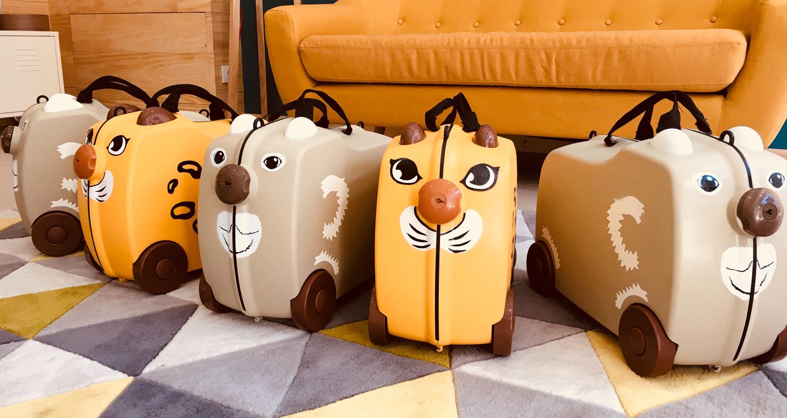 oferta maletas para niños