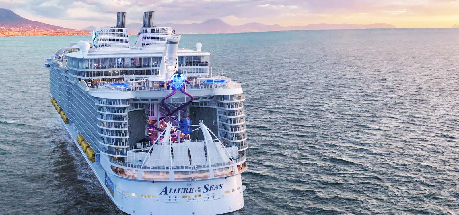 crucero Royal Caribbean allure of the seas mediterraneo clasico desde Barcelona