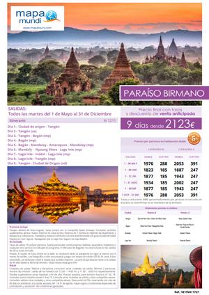 birmania mapa tours