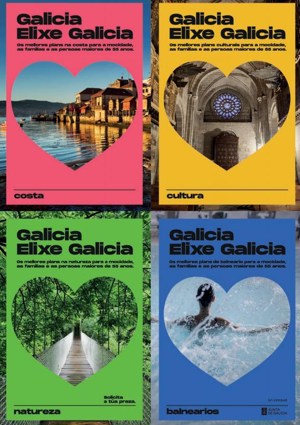 programa Elixe Galicia viajes subvencionados